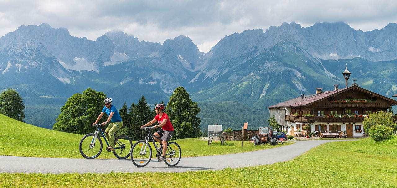 Radfahren in Ellmau