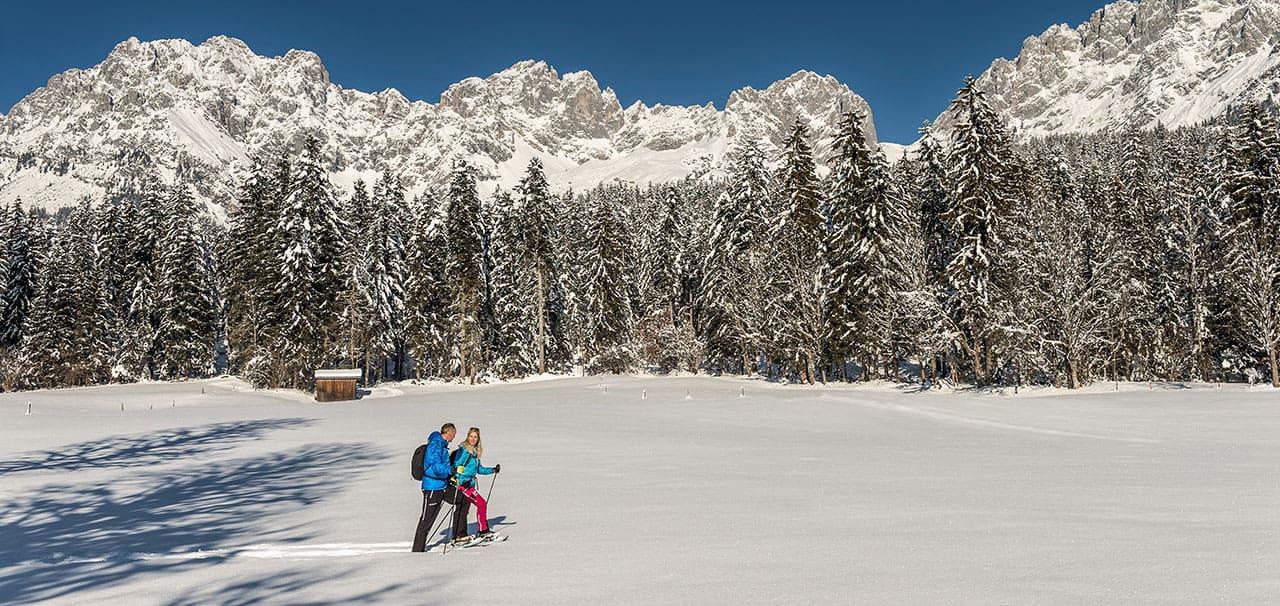 Schneeschuhwandern Wilder Kaiser