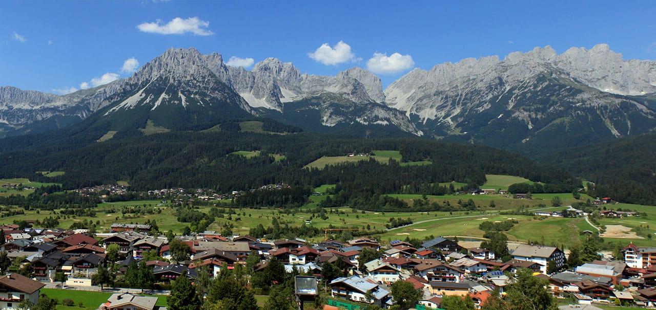 Wilder Kaiser Gebirge in Ellmau